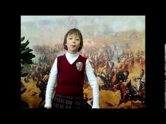 Изображение предпросмотра прочтения – ЕкатеринаДробаденко читает отрывок изпроизведения «Бородино» М.Ю.Лермонтова