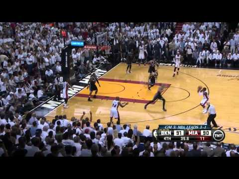 Brooklyn Nets vs Miami Heat Game 5 | May 14, 2014 | NBA Playoffs 2014