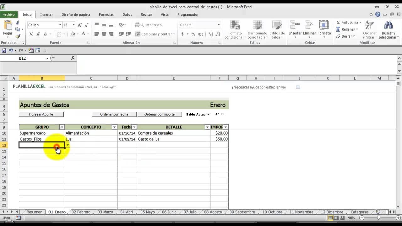 formatos contabilidad excel gratis