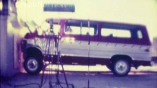 1979 Chevy C20 Beauville Sportvan | Frontal Crash Test by NHTSA | CrashNet1