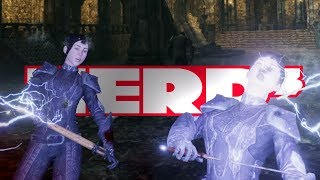 Nerd³ Electrocutes a Guy - Blade and Sorcery