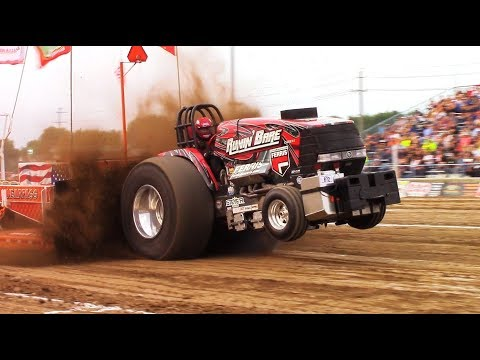 Tractor Truck Pulls! 2017 Monroe County Fair Pull! NTPA