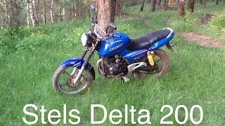Обзор Stels Delta 200 От Миши Табуреткина.