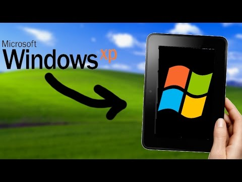 Running Windows XP On Amazon Fire (Android Tablet)