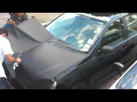 Matte Black Vinyl Car Wrap Cost Vinyl car wraping (first time) - YouTube