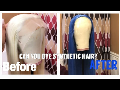 Watercolor method on SYNTHETIC wig ft. ATOZWIG 613