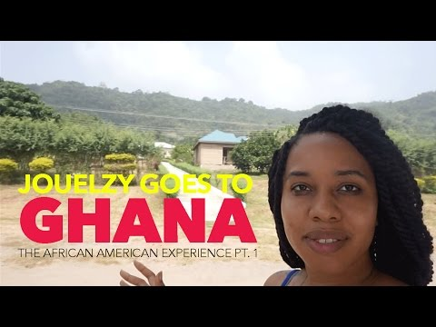 Jouelzy Goes to Ghana | African American in Accra & Kumasi