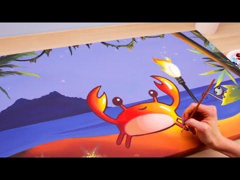 Little Crab Painting - original