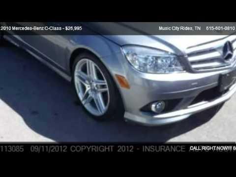2010 mercedes benz c class c300 4matic sport sedan for for Mercedes benz music city nashville
