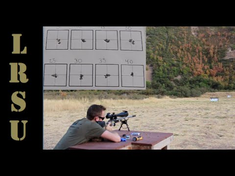 Effects of Action Screw Torque on 22 LR Accuracy - 50 & 100 Yard Test