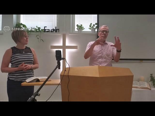 Sunnuntai / Sunday 14.6.2020 - Kristityn kasvu osa 7