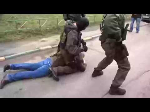 задержание подозреваемых в убийстве (оперативное видео)