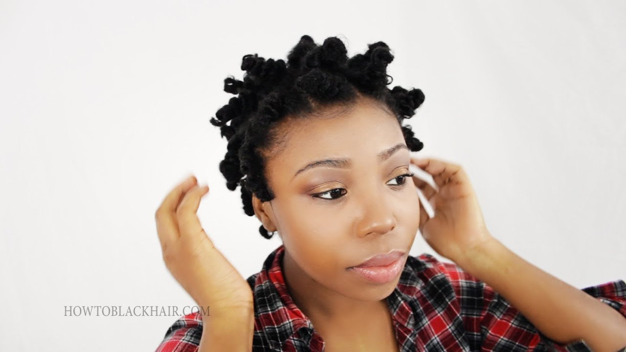 step by step natural hair styles bantu knot out on hair how to take knots on 4363 | maxresdefault