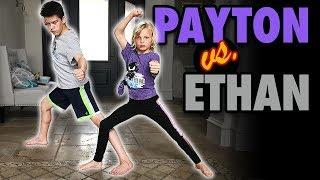 Payton vs. Ethan - Ninja Kidz Epic Challenge or Epic Prank?