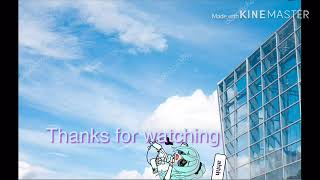 Thanks for watching intro