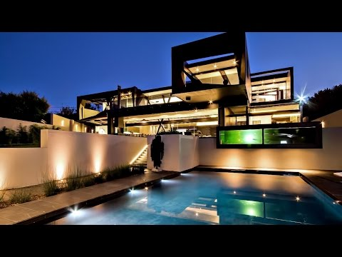 Ultra-Modern Contemporary Luxury Residence in Bedfordview, Johannesburg, South Africa