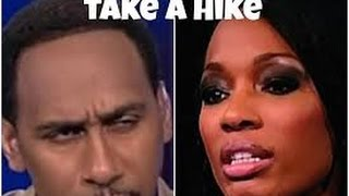 STEPHEN A. SMITH AND CARI CHAMPION HAD PROBLEMS WHICH LED TO CARI LEAVING ESPN FIRST TAKE!