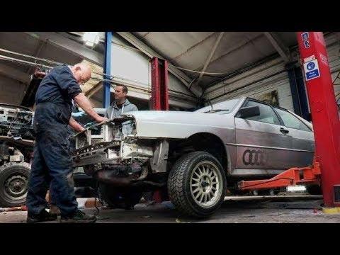 I maghi del garage - Una grandiosa Audi