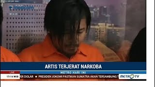 Vokalis Band Zivilia Ditangkap Diduga Terlibat Peredaran Narkoba