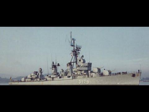 Zerstörer 5  (D179) ex USS Dyson ( DD572) von 1967