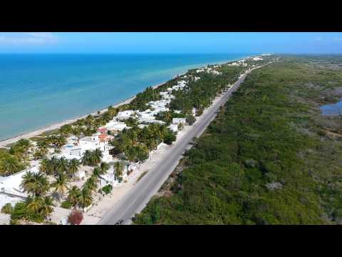 Repeat Flip Flops in the Sand Chelem Yucatan Mexico by