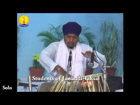 AGSS 2012 : Students of jawaddi taksal : Tabla Solo