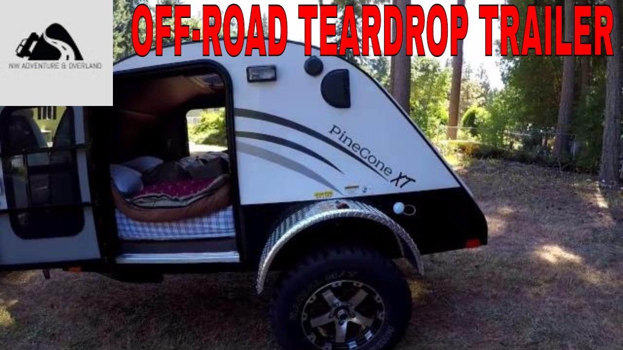 Off Road Teardrop trailer walk around