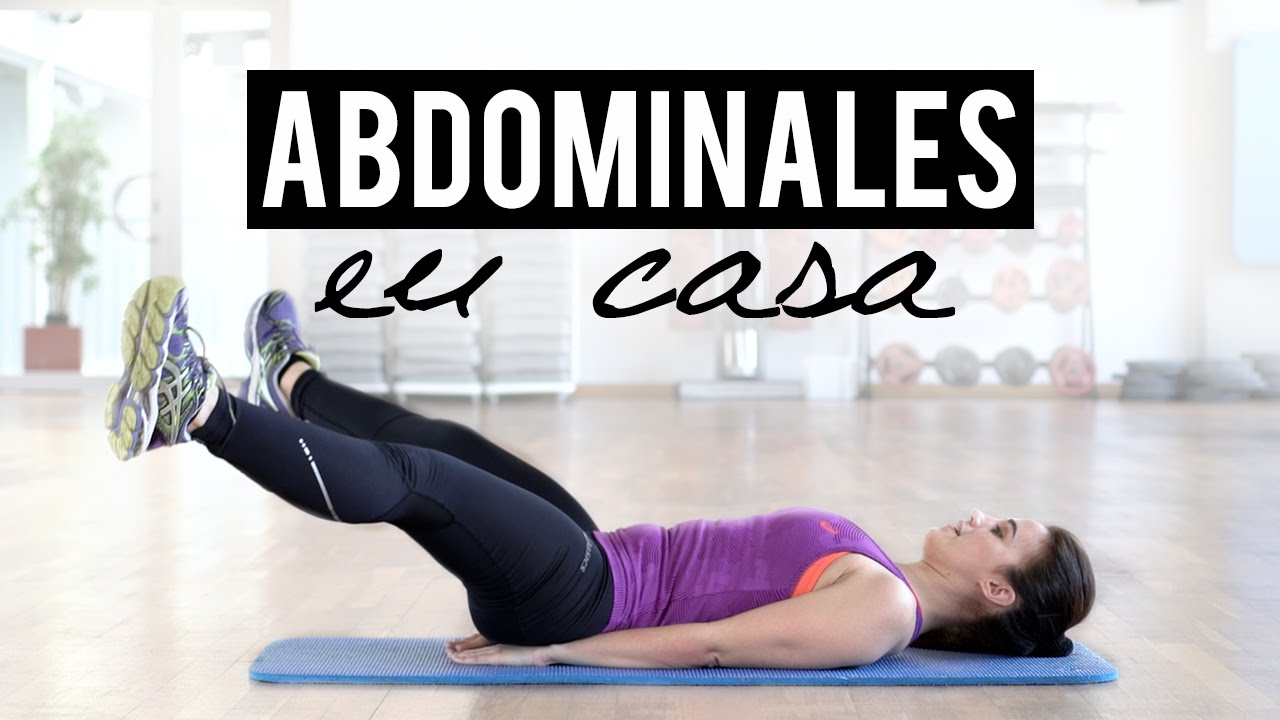 Rutina De Abdominales En Casa Abs Workout Youtube