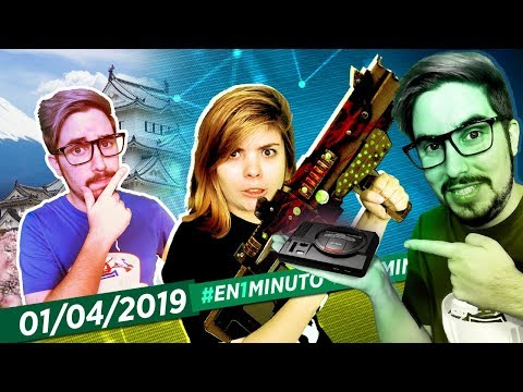 #En1Minuto: Borderlands 3, April Fools, Sega