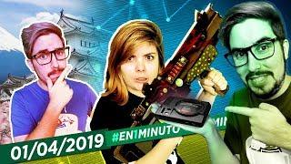 #En1Minuto: Borderlands 3, April Fools, Sega