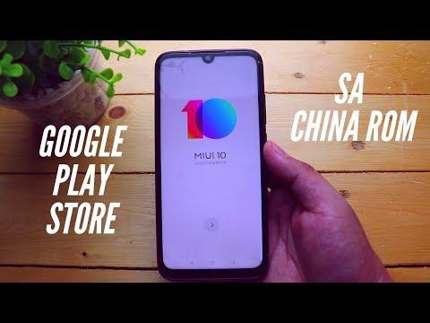 Pano lagyan ng Google Play Store si China ROM?