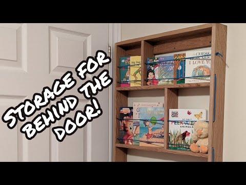 Narrow Bookshelf for Small Spaces - DIY