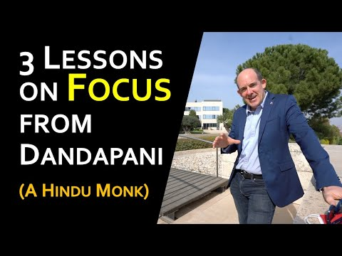3 Lessons on Focus from @DandapaniLLC, a Hindu Monk who teaches Entrepreneurs how to use their Minds