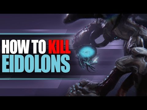 Warframe - How to Kill An Eidolon (Before They Released)