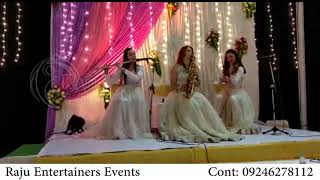 LIVE INSTRUMENTAL MUSIC || FOREIGN ACT ||  RUSSIAN GIRLS || RAJU EVENTS 09246278112