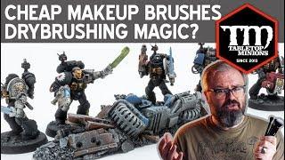 Are Cheap Makeup Brushes Drybrushing Magic?