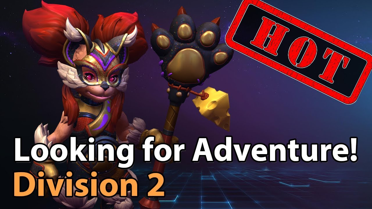 ► LiLi looking for Adventure - Division 2 - Heroes of the Storm Esports