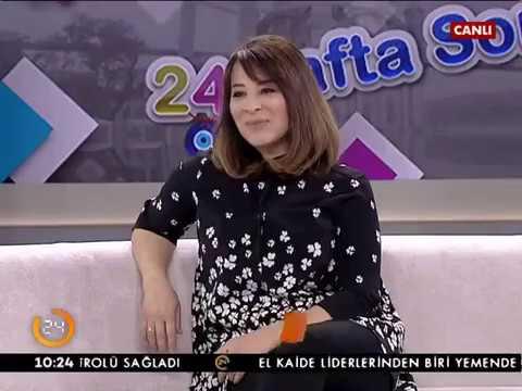 Mresco Türkiye Ceo'su Oya Zingal / Kanal 24 Hafta Sonu 14 Ocak 2017