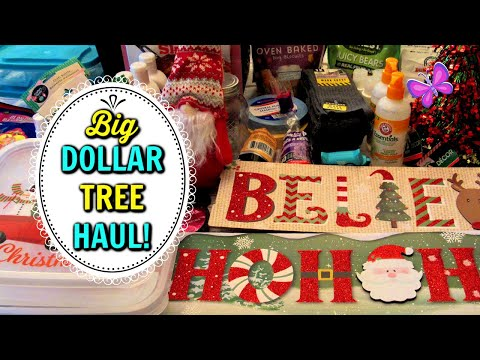 Big DOLLAR TREE HAUL!  New Christmas Finds!  October 23, 2020 #LeighsHome