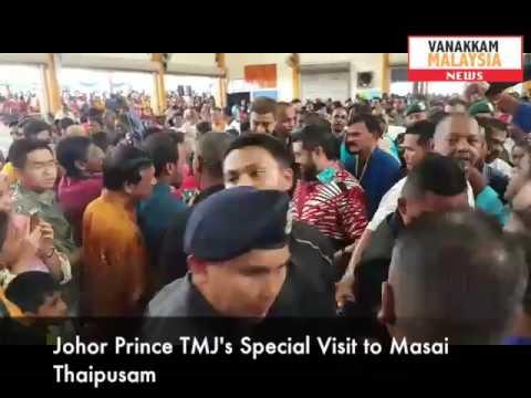 #Thaipusam2017: TMJ's Special Visit to Masai Temple Thaipusam