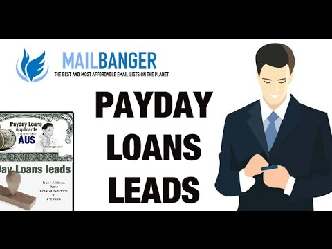 Buy Payday loans and leads lists