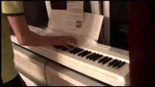 """Тема интро """"20 век фокс"""" на фортепиано. 20th Century Fox intro theme on fortepiano."""