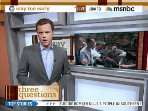 Way Too Early with Willie Geist   Open  6132011
