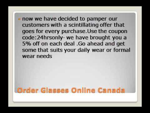 a60bde56b37 Order Glasses Online Canada - YouTube