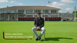 Sergio Amatriain, el nuevo entrenador de Osasuna Promesas