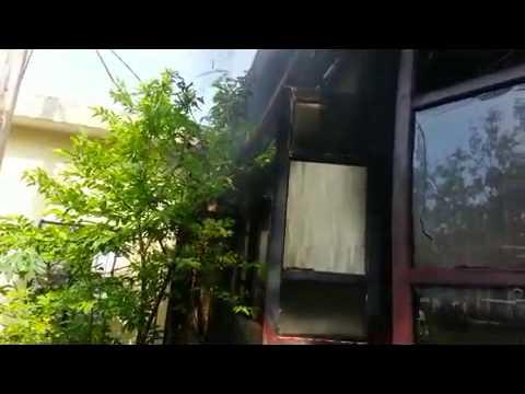 Diễn Châu: Video bưu điện văn hóa bị thiêu rụi lúc sáng sớm