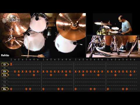 Boulevard of Broken Dreams - Green Day (aula de bateria)