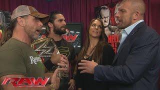 Shawn Michaels schlägt einen Tag Team Partner für Ambrose & Reigns vor: Raw – 19. Oktober 2015