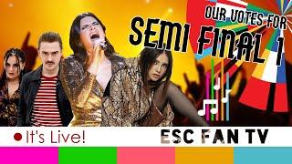 Eurovision 2020 Semi-final 1 LIVE VOTE | ESC2020 SF1 QUALIFIERS | LIVE SHOW