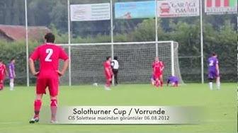 06.08.12 CIS Solettese - Türkischer SC Solothurn macindan görüntüler